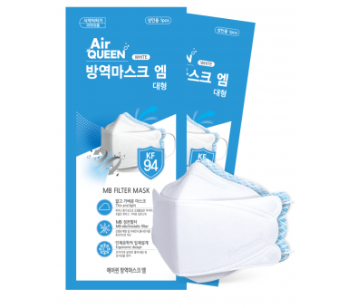 에어퀸 KF94 마스크 대형(100매)